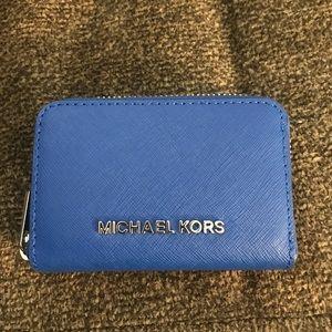 Michael Kors change/card wallet